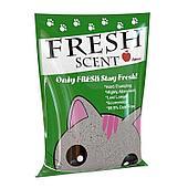 Комкующийся наполнитель Fresh Scent для туалета кошек (Яблоко) - 5 л