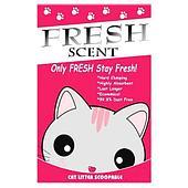 Комкующийся наполнитель Fresh Scent для кошачьего туалета (Лимон) - 5 л