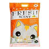 Комкующийся наполнитель Fresh Scent для туалета кошек (Манго) - 5 л