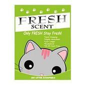 Комкующийся наполнитель Fresh Scent для туалета кошек (яблоко) - 10 л
