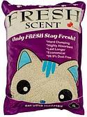Комкующийся наполнитель Fresh Scent для туалета кошек (Клубника) - 10 л