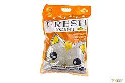 Комкующийся наполнитель Fresh Scent для туалета кошек (Манго) - 10 л