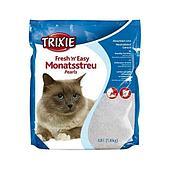 Впитывающий наполнитель Trixie для туалета кошек, гигиенический - 8 л