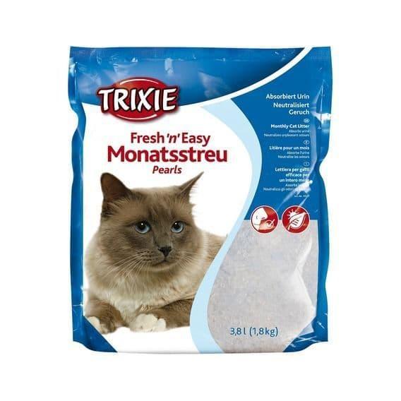 Впитывающий наполнитель Trixie для туалета кошек - 3.8 л