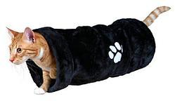 """Игрушка """"Игровой тоннель"""" для кошек и мелких пород собак (Антрацит), Trixie - 60х22 см"""