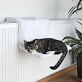 Спальное место - гамак на радиатор для кошек, 45 × 24 × 31 cм