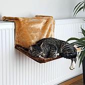 Спальное место - гамак на радиатор для кошек, 45×24×31 cм