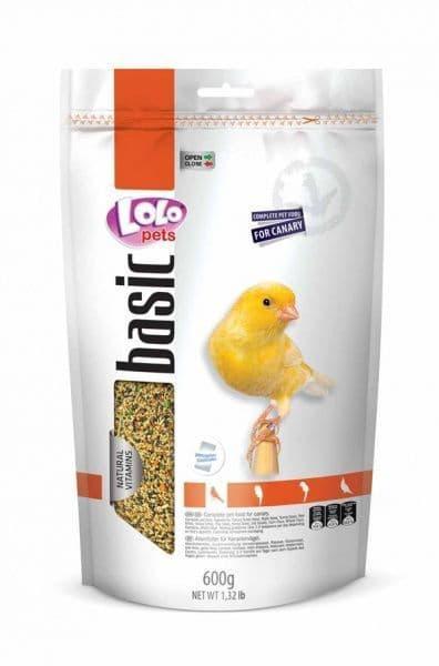 Полнорационный корм для канареек, Lolo pets - 600 гр