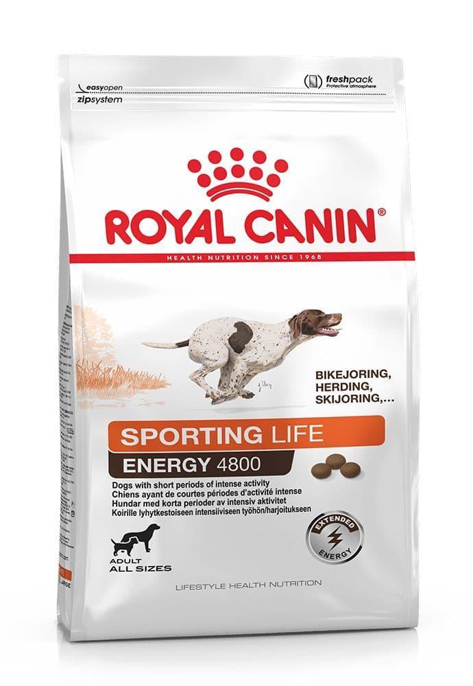 Корм Royal Canin Energy 4800 для собак, испытывающих продолжительные физические нагрузки - 20 кг