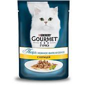 Корм Gourmet Perle для кошек (Курица в подливе) - 85 г