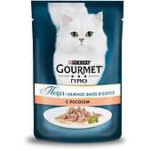 Корм Gourmet Perle для кошек (Лосось) - 85 г