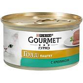 Паштет Gourmet Gold для кошек (Кролик) - 85 г