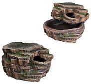 Змеиная пещера - идеальное место для линьки и укрытия - 20х26х13 см