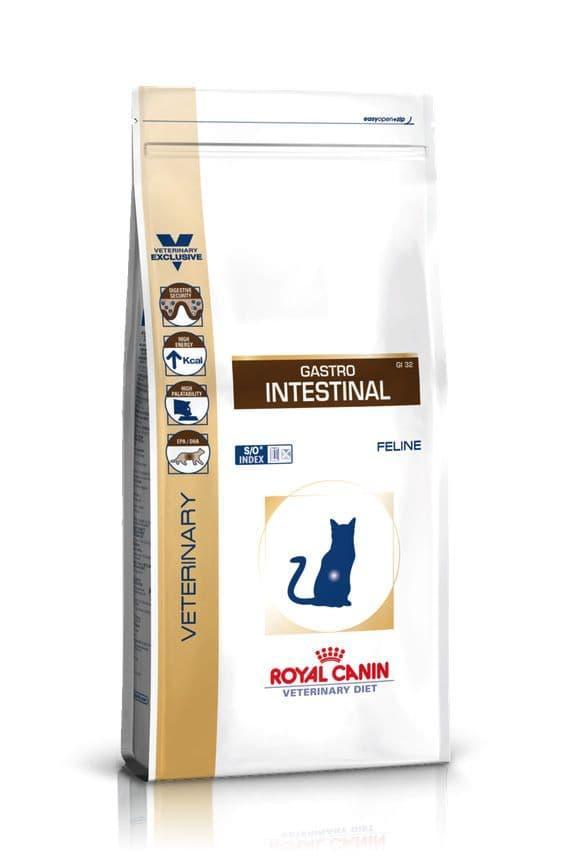 Корм Royal Canin Gastro Intestinal для лечения нарушений пищеварения ЖКТ кошек - 400 г
