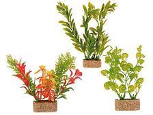 Декорация (растения на подставке) - 12 см