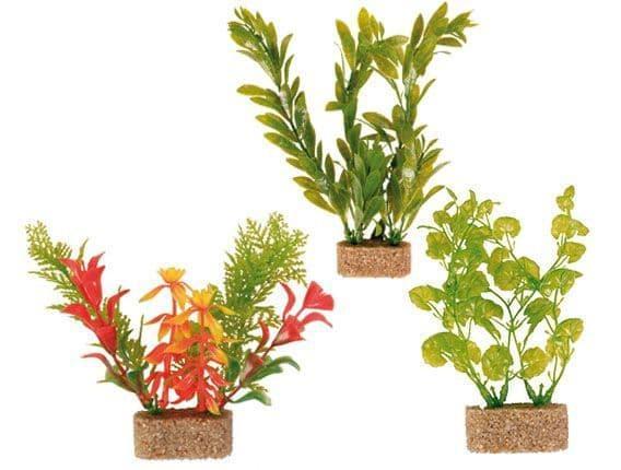 Декорация (растения на подставке) - 20 см