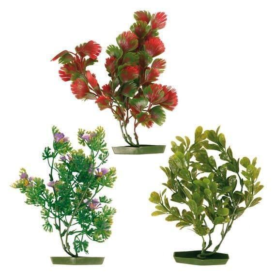 Декорация (растения на подставке) - 28 см
