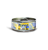 Консервы Monge Cat Natural для взрослых кошек (Тунец и курица с кукурузой) - 80 г