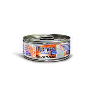 Консервы Monge Cat Natural для взрослых кошек (Тунец с лососем и курицей) - 80 г