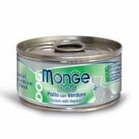 Консервы Monge Natural для собак (Цыпленок с овощами) - 95 г