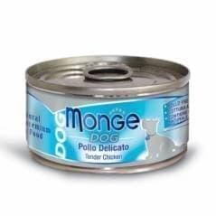 Консервы Monge Natural Chunks Tender Chicken для собак (Цыпленок) - 95 г