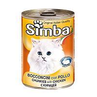 Консервы Monge Simba для взрослых кошек (Курица) - 415 г