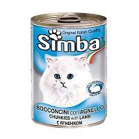Консервы Monge Simba для кошек (Баранина) - 415 г