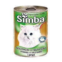 Консервы Monge Simba для кошек (Говядина, оленина и дичь) - 415 г