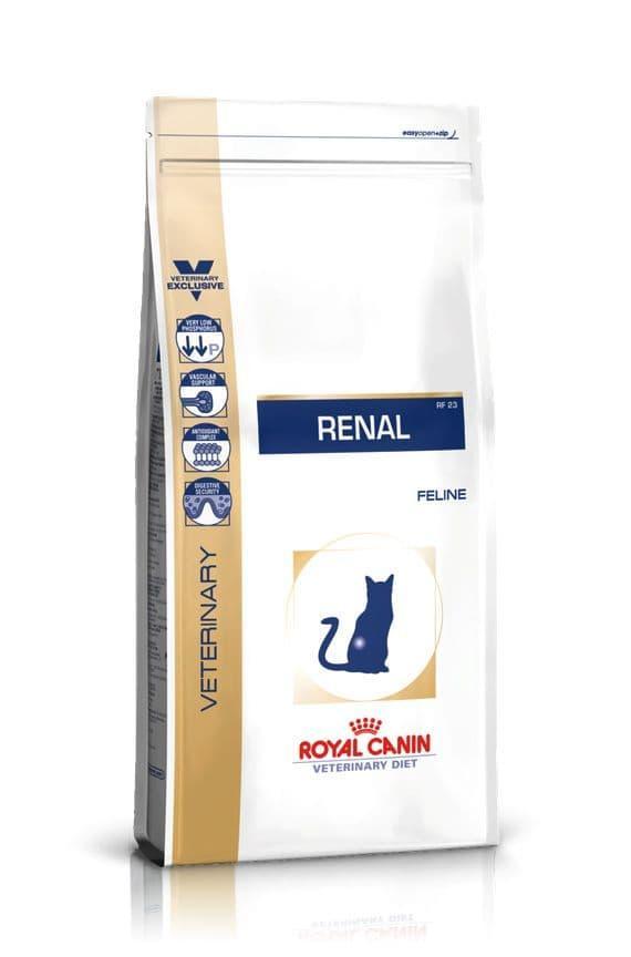 Корм Royal Canin Renal для кошек c хронической почечной недостаточностью - 2 кг