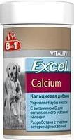 Кальциевая добавка Excel Calcium для крепких зубов и костей у собак и щенков, 8in1 - 155 табл.