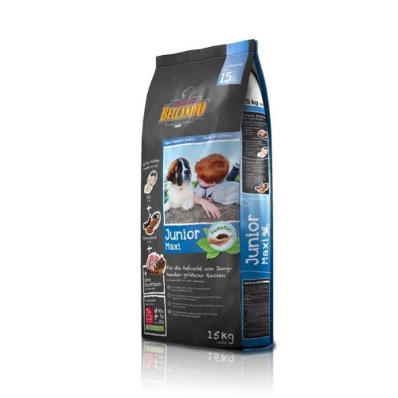 Корм Belcando Junior Maxi для щенков, крупных и гигантских пород (Птица с Рисом) - 15 кг