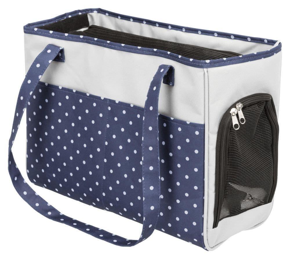 Транспортировочная сумка Bonny, серая-синяя, 20 × 29 × 40 cm