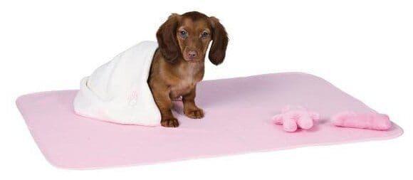 Набор Trixie для щенков, коврик, полотенце и 2 игрушки (Розовый)