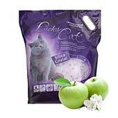 Впитывающий наполнитель Lucky Cat для туалета кошек (Яблоко, лаванда) - 11 л