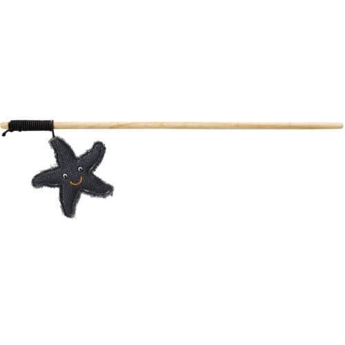 Удочка-дразнилка с морской звездой Trixie BE NORDIC игрушка для кошек - 45 см