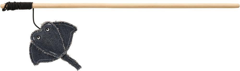 Игрушка для кошек BE NORDIC, удочка-дразнилка, со скатом, 45 cm