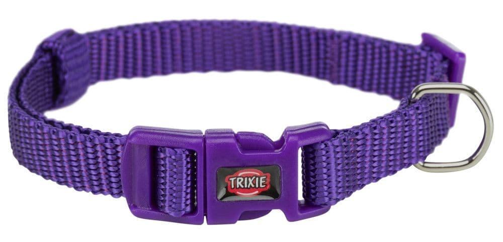 Premium ошейник для собак, фиолетовый, XS–S: 22–35 cm/10 mm