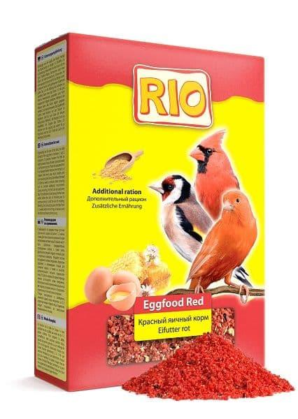 Корм Рио для птиц красного окраса, яичный, красный, 350г