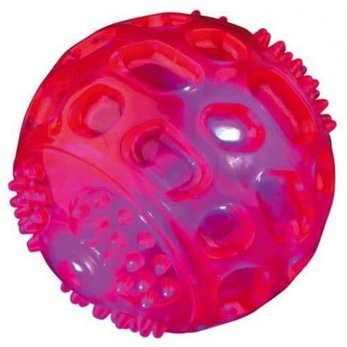"""Игрушка """"Светящийся мяч"""" для собак из резины, Trixie - 6.5 см"""