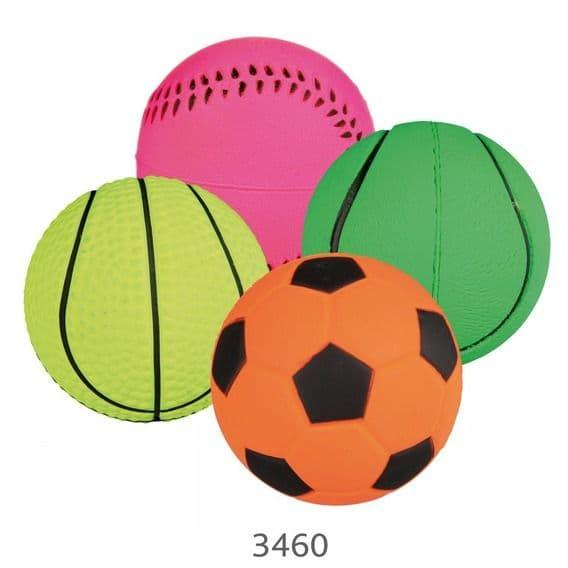 "Игрушка ""Мячики"" для собак (Неон), Trixie - 4.5 см"