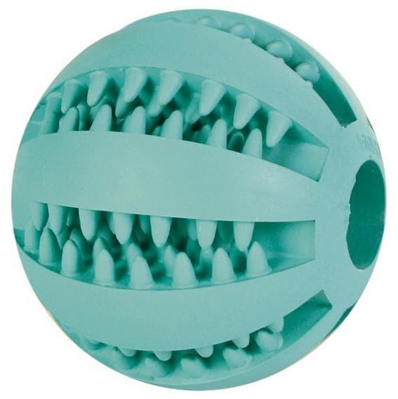 """Игрушка """"Мяч для бейсбола"""" Denta Fun для массажа десен и игры собак, Trixie - 5 см"""