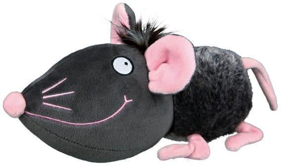 """Игрушка """"Плюшевая мышь со звуком и шелестящей фольгой"""" для собак, Trixie - 33 см"""