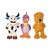 """Игрушка """"Животные с флисовым заполнением, с пищалкой"""" для собак, Trixie - 11 см"""