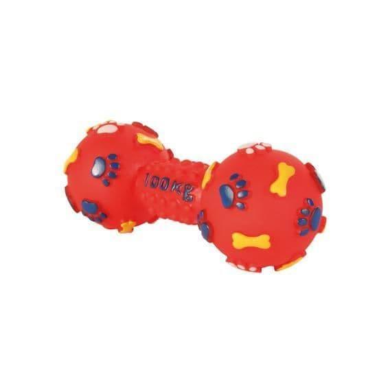 """Игрушка """"Гантель с пищалкой"""" для собак, Trixie - 15 см"""
