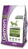 Корм Monge Gemon Sterilizad для стерилизованных и кастрированных кошек (Индейка) - 1.5 кг