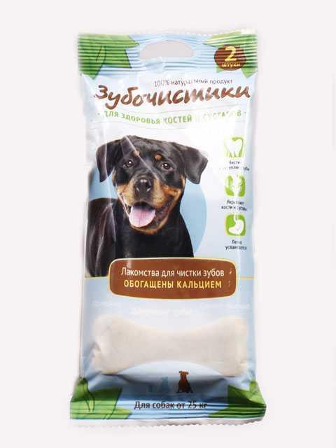 """Лакомство зубочистики """"Деревенские лакомства"""" для собак, крупных пород - 105 гр."""