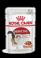 Корм Royal Canin Instinctive для кошек, высокая вкусовая привлекательность (в Соусе) - 85 г