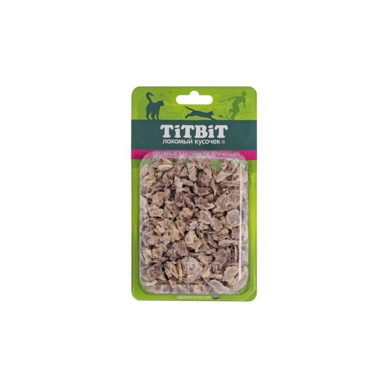 Высушенные кусочки бараньего легкого, TitBit - 10 г