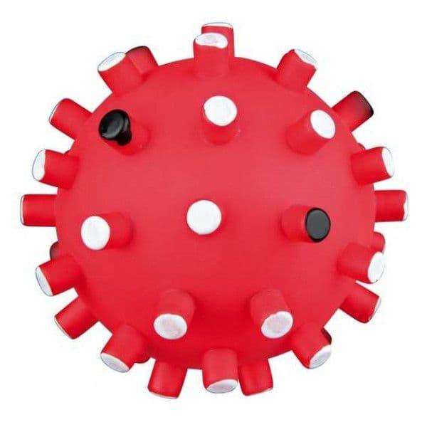"""Игрушка """"Мяч игольчатый, с пищалкой"""" для собак, Trixie - 6.5 см"""