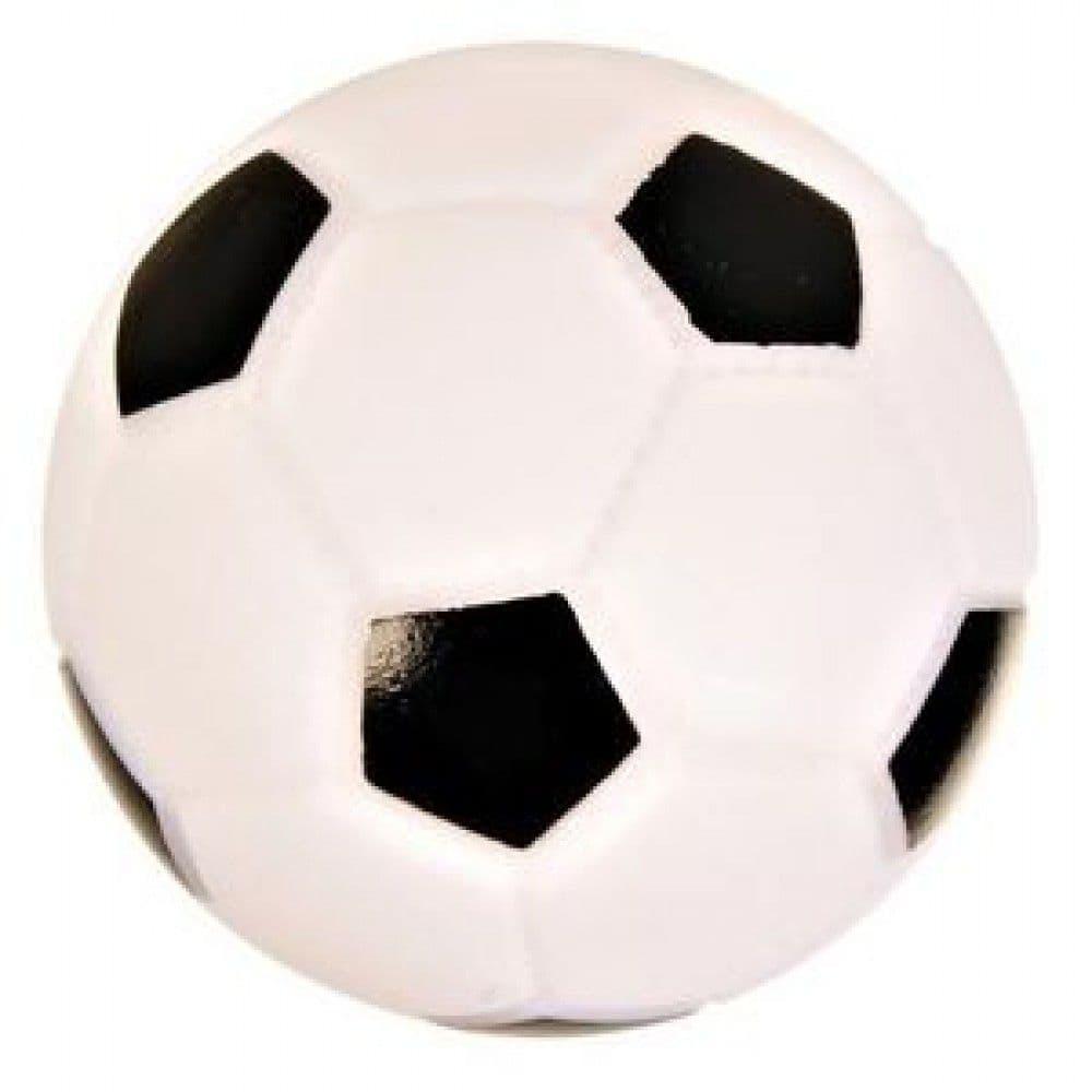 """Игрушка """"Футбольный мяч с пищалкой"""" для собак, Trixie - 10 см"""